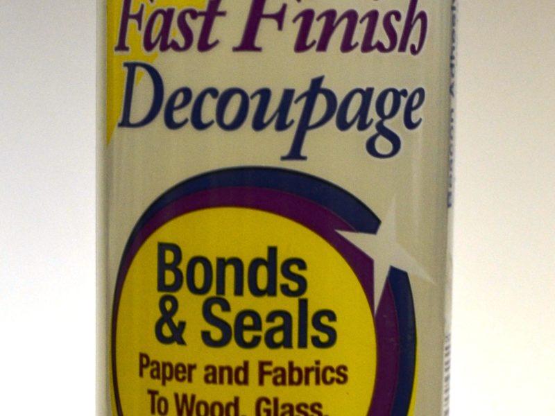 Fast Finish Decoupage